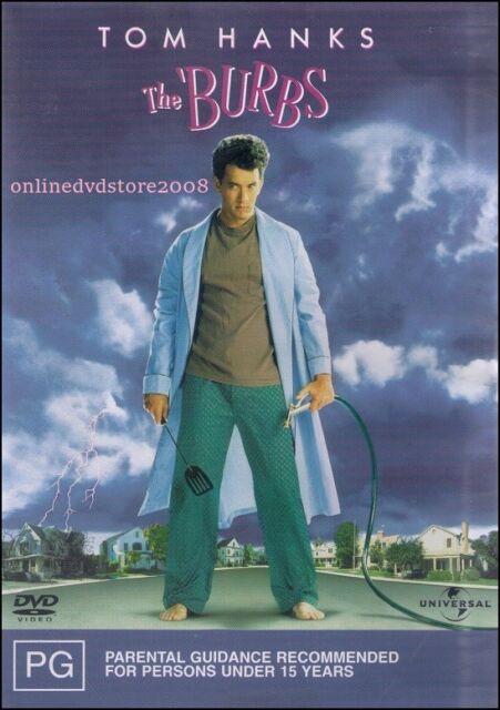The BURBS (Tom HANKS Carrie FISHER Bruce DERN Corey FELDMAN) COMEDY Film DVD