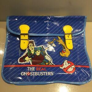 The real ghostbusters 1984 Satchel bag school kids vintage merch 80s