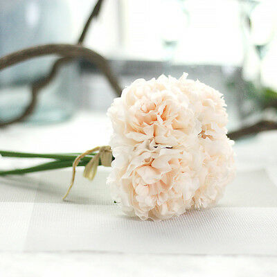 5*Peony Flower Bouquet Home Party Design Decors Floral Party Wedding Decorationღ