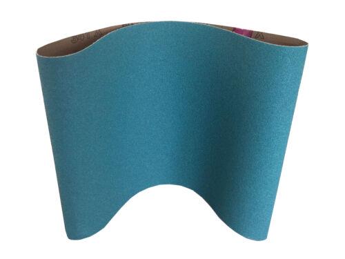 """7-7//8/"""" x 29-1//2/"""" Floor Sanding Belts Premium Zirconia Cloth 10 Pack, 100 Grit"""