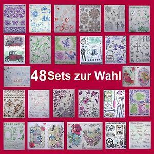 Silikonstempel-Set-48-Sets-zur-Wahl-Viva-Decor-Clearstempel