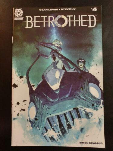 2018 AFTERSHOCK Comics BETROTHED #4 ~ VF//NM Book