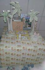 Precious Moments Hay Bail Baby Food Palm Trees 272582 Nativity Addition