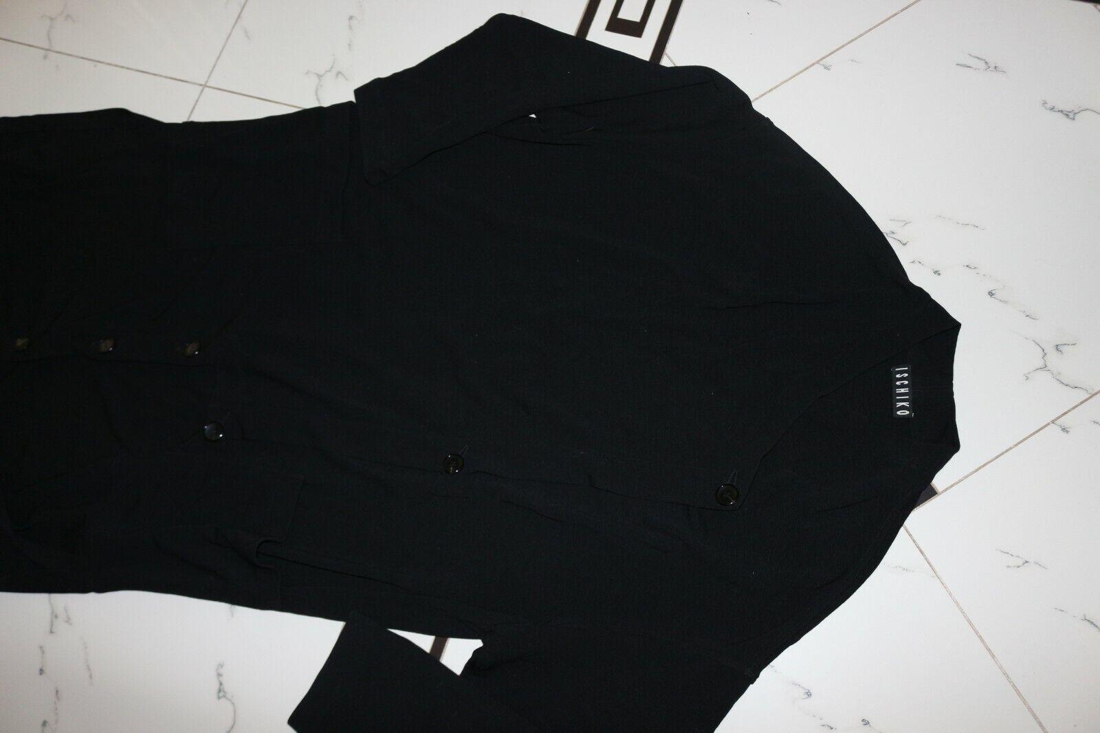 ISCHIKO Kleid Wolle Lagenlook Gr:40