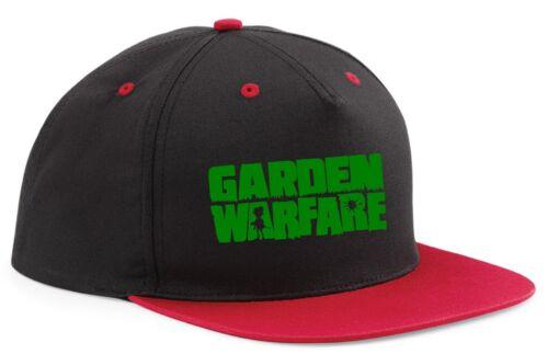 SNAPBACK HAT CAP plants vs zombies GARDEN WARFARE adjustable cool game gamer
