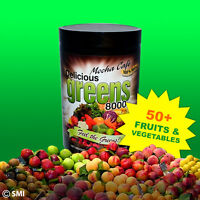Want All Day Energy? Get Delicious Greens 8000 Mocha Cafe 50+veggies / Fruits