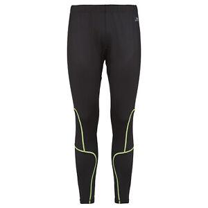 Trespass-Bang-Mens-Active-Trousers-Black-Running-Pants-with-Reflective-Logos
