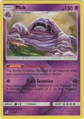 91//181 FAST /& FREE P/&P! Sun /& Moon Team Up Holo Pokemon Card Zoroark MINT