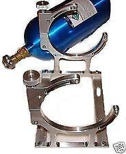 Nitrous NOS Billet Single Bottle Mounting Bracket Kit ZEX NX N2O 10lb 15lb