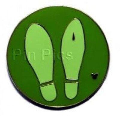 WALT DISNEY DONALD DUCK FEET FOOTPRINTS HIDDEN MICKEY TRADING PIN 58424