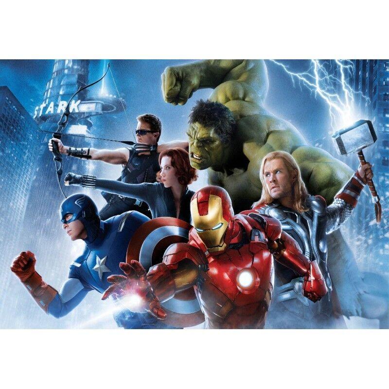 Stickers muraux géant Avengers 15163