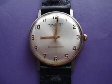 Vintage  Paul Poiret Mechanical Men's Wristwatch 21 Jewels Authentic  Rare