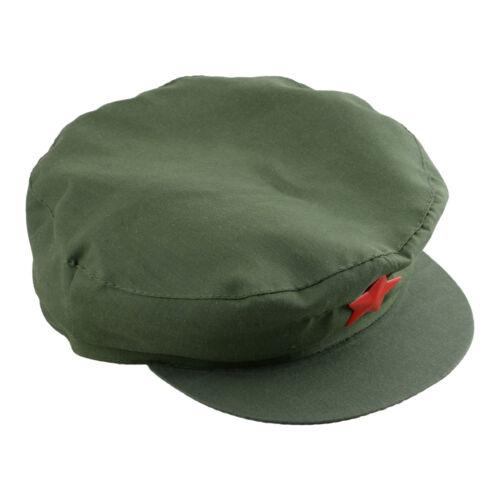 Unisex Rote Armee Kommunistischen Hut Feldmütze Schlägermütze Segeltuch