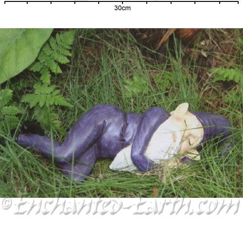 New Prince The Sleeping Gnome / Garden Gnome  / Garden or Home Ornament -25cm
