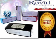 CASSA PORTATILE CON FM SD USB BLUETOOTH MP3 SMARTPHONE SPEAKER ALTOPARLANTE