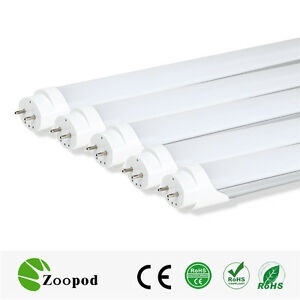 25lot-4ft-18W-T8-LED-Lamp-Light-Tube-Bulb-Milky-Cover-Cold-White-Replacement