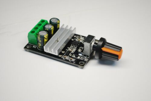2 PCS PWM DC motor speed controller 6V12V24V28V 3A speed control  A461