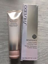 Shiseido Benefiance Extra Creamy Cleansing Foam 125ml/4.4oz NIB