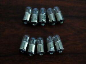 Pkg of 10 ea GE Miniature Lamp Bulb #308
