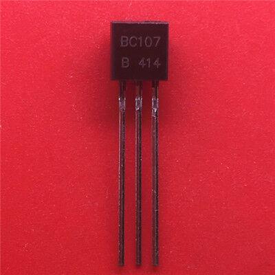 10 X  BC107B NPN Transistor