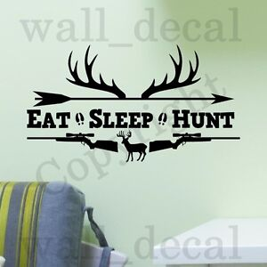 Genial Image Is Loading Eat Sleep Hunt Rifles Racks Deer Bow Hunting