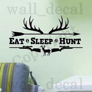 Genial Image Is Loading Eat Sleep Hunt Rifles Racks Deer Bow Hunting