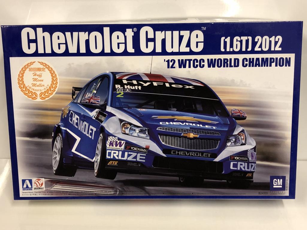 2012 Chevrolet Cruze 1.6T Wtcc World Champ 1 24 Kit modellolo Beemax 24003