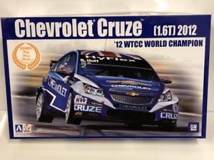 2012 Chevrolet Cruze 1.6T WTCC World Champ 1 24 Model Kit Beemax 24003