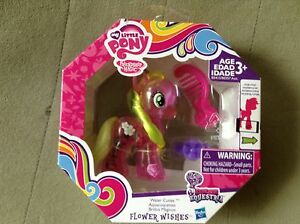 My Little Pony explore equestria Water Cuties Applejack /& Flower wishes NEW