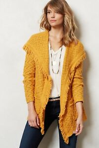 fa62c3600d84ca Image is loading Chevron-Cable-Cardigan-anthropologie-ANGEL-OF-THE-NORTH-