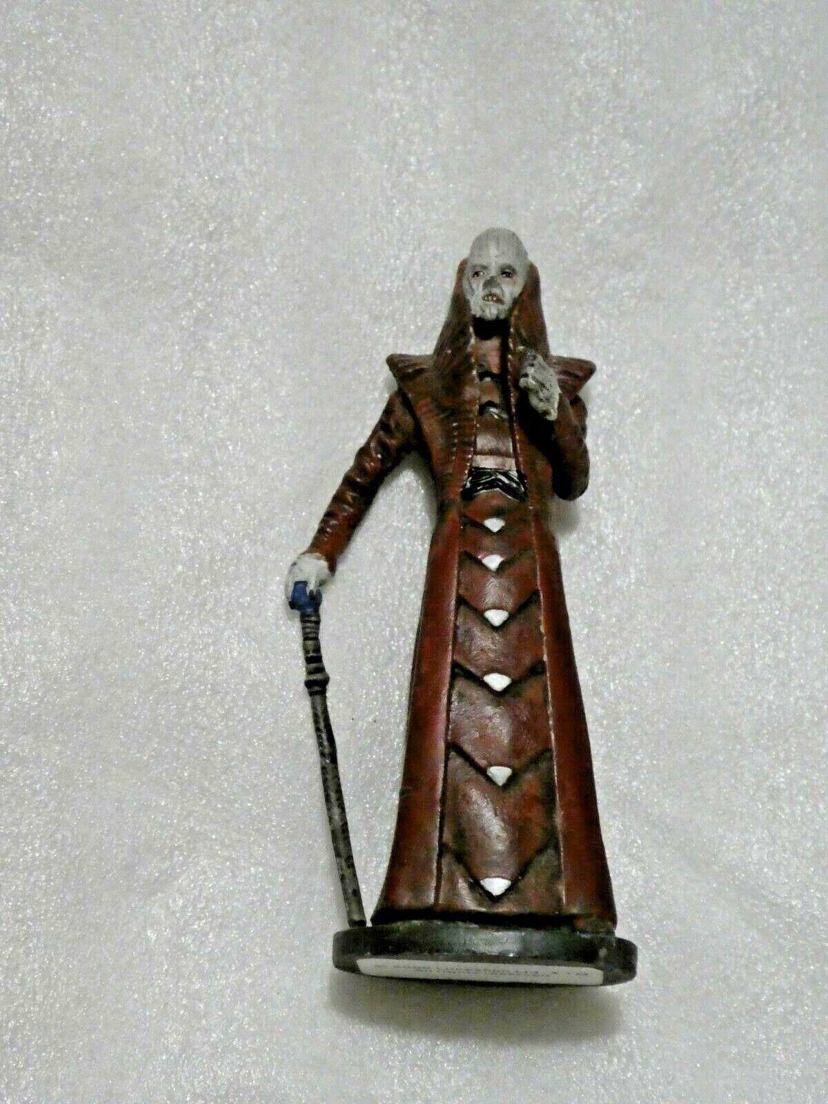 """StarWars figurine : STAR WARS Vintage  FIGURINE EN PLOMB """" TION MEDON UTAPAU """" LUCASFILM  RARE"""
