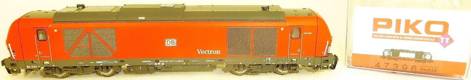 Locomotiva Diesel Vectron BR247 Db-Cargo Epvi PluX22 Piko 47396 Tt 1:120 Nuovo