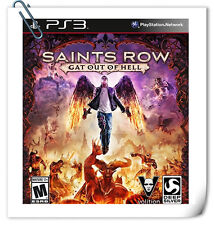 PS3 Saints Row: Gat Out of Hell SONY Playstation Action Games Deep Silver