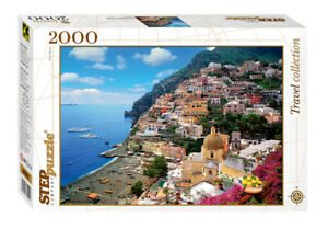 Puzzle Italy. The Amalfi Coast 2000 pcs