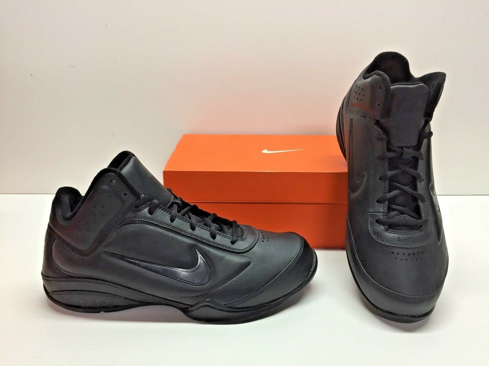 Nike Air Flight Showup Basketball Nero Trainer Athletic  Shoes Uomo 10
