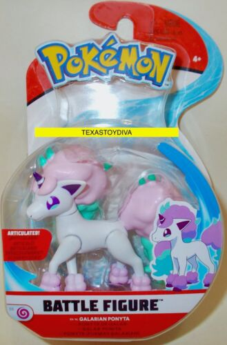 Pokemon Battle Ready Figure Pack GALARIAN PONYTA Pony Articulated READ LISTING