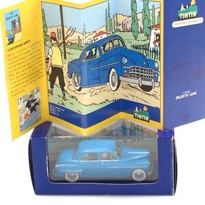 En Voiture Tintin certificat N38 voiture nanking lotus bleu boîte