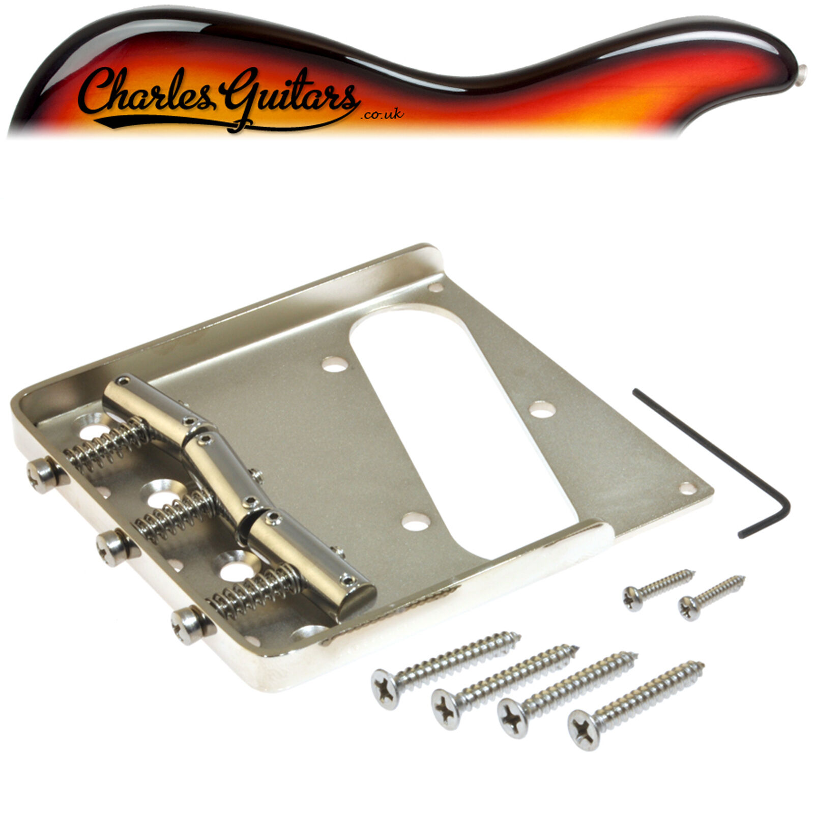 CALLAHAM TELE BRIDGE SLANT COMPENSATED STEEL (CA22003)