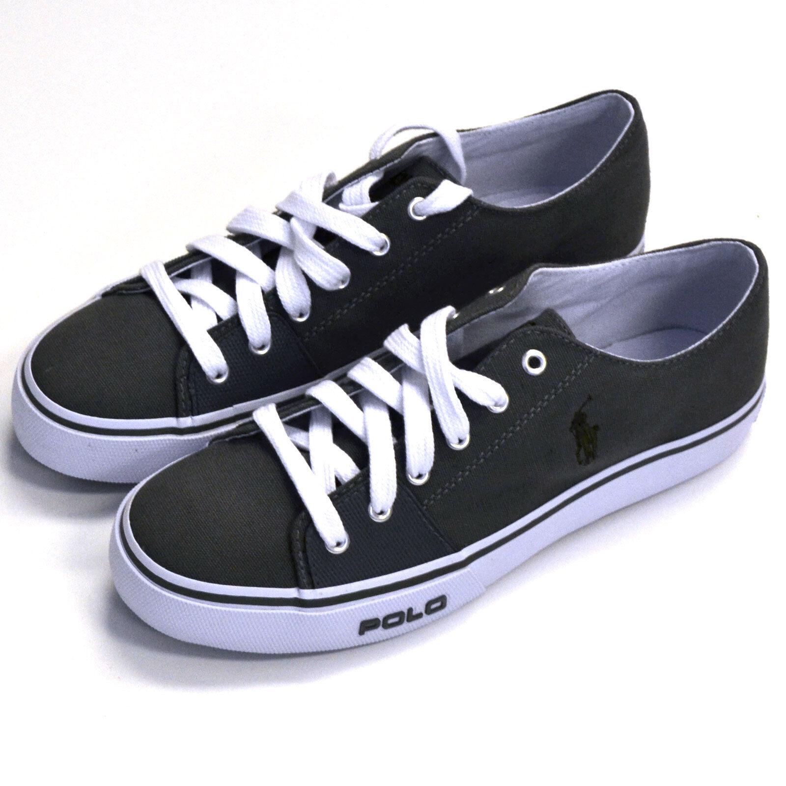 Polo Ralph Lauren shoes Mens Tennis shoes Canvas Sneakers Pony Logo 8 10.5 Prl