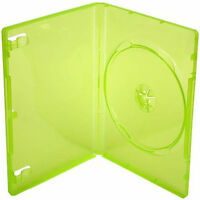 200 X Xbox 360 Replacement Game Cases Translucent Green - Pack Of 200