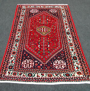 Alter Orient Teppich 148 X 104 Cm Perserteppich Rot Old Red Carpet Rug Tappeto