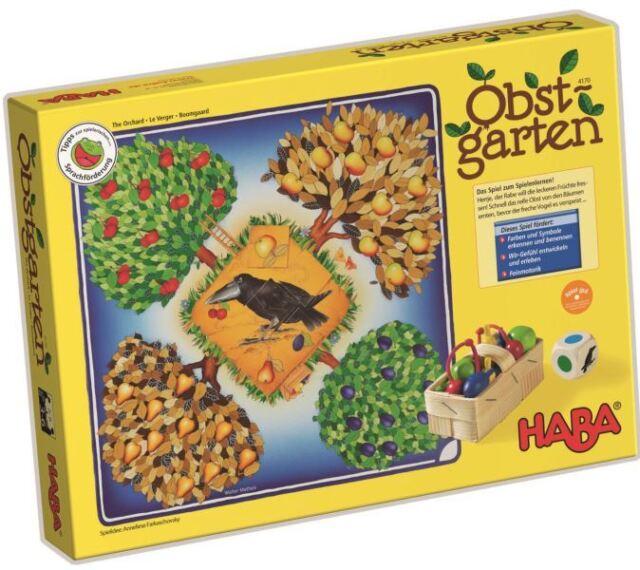 Haba Fruit Jardin 4170 Kooperatives Jeu Farben-Lernspiel dès 3 Ans