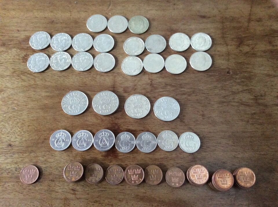 Skandinavien, mønter