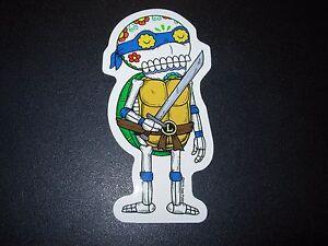 TEENAGE MUTANT NINJA TURTLES Donatello MUERTO Sticker DIA DE LOS MUERTOS PULIDO