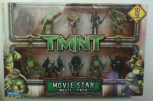 New In Box 10 X Tmnt Movie Star Multi Pack Mini Action Figures
