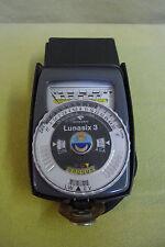 Belichtungsmesser - Gossen - Lunasix 3 - DIN ASA - im Etui - funktionsfähig