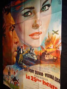 LA-25eme-HEURE-anthony-quinn-virna-lisi-affiche-cinema-mascii-1967