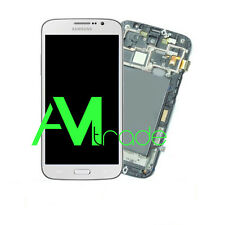 LCD DISPLAY FRAME COMPLETO TOUCH SAMSUNG GALAXY MEGA GT-I9200 I9205 BIANCO WHITE