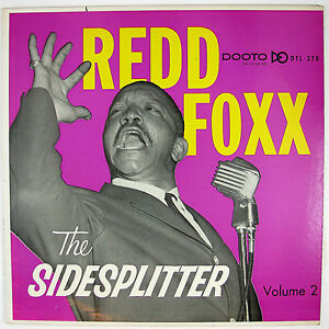 REDD-FOXX-The-Sidesplitter-Volume-2-LP-1959-COMEDY-NM-VG