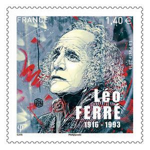 TIMBRE-5080-NEUF-XX-Leo-Ferre-1916-1993